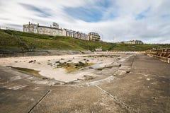 Piscina al aire libre de Tynemouth Fotos de archivo libres de regalías