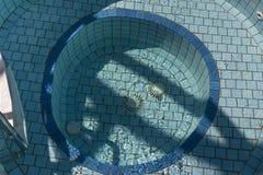 Piscina al aire libre del balneario Fotografía de archivo libre de regalías