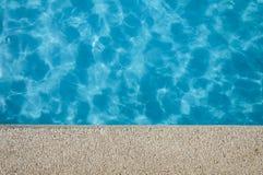 Piscina azul Imagen de archivo