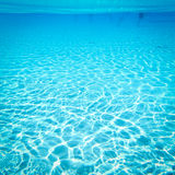 Piscina bajo el agua Fotos de archivo libres de regalías