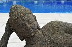 Piscina buddista Fotografia Stock Libera da Diritti