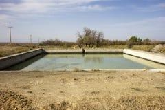 Piscina de agua en Irán Imagen de archivo libre de regalías