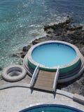 Piscina de Bahamas fotos de archivo