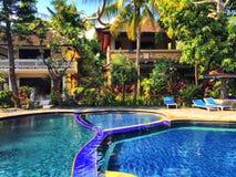 Piscina de Bali Imagen de archivo