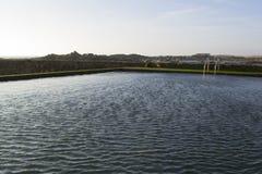 Piscina de la agua de mar Imágenes de archivo libres de regalías
