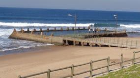 Piscina de la onda de marea Foto de archivo libre de regalías