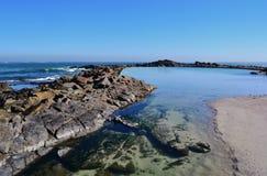 Piscina de marea Imagenes de archivo
