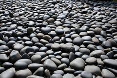 Piscina de piedra del guijarro Foto de archivo