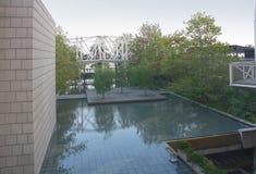 Piscina de reflejo Foto de archivo libre de regalías