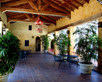 Piscina de Venetion en Coral Gables Imagen de archivo libre de regalías