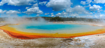 Piscina del arco iris Fotos de archivo libres de regalías