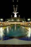Piscina del barco de cruceros Imagen de archivo
