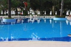 Piscina del hotel de Tekirova Imagen de archivo