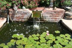 Piscina del jardín Fotos de archivo