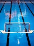 Piscina del water polo Imagenes de archivo