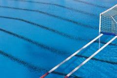 Piscina del water polo Fotografía de archivo libre de regalías