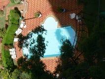 piscina della In-terra Fotografie Stock