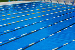 Piscina di sport Immagine Stock