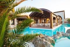 Piscina do hotel de luxo Imagem de Stock