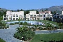 A piscina do hotel relaxa Fotos de Stock Royalty Free