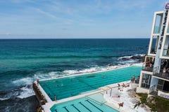 Piscina dos iceberg da praia de Bondi Fotos de Stock Royalty Free