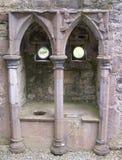 Piscina en el monasterio de Rosserk Imagenes de archivo