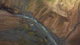 Piscina geotermica islandese video d archivio