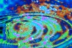 Piscina loca de los colores Foto de archivo