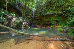 Piscina natural de la selva tropical Imagen de archivo