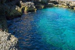 Piscina natural maltesa Imagenes de archivo