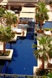 Piscina no hotel de luxo foto de stock royalty free