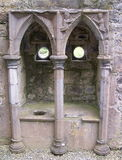 Piscina no mosteiro de Rosserk Imagens de Stock
