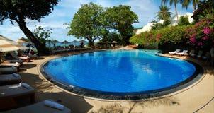 Piscina nos tropics Fotografia de Stock Royalty Free