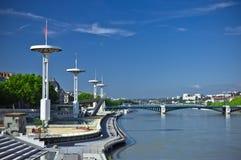 Piscina olímpica en Lyon Foto de archivo