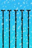Piscina ondulada Fotos de archivo