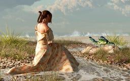 Piscina Oracle de la marea libre illustration