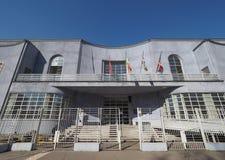 Piscina Stadio Monumentale en Turín Imagen de archivo libre de regalías