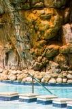 Piscina termal, Montagu, Suráfrica foto de archivo