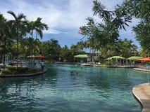 piscinas Imagenes de archivo
