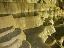 Piscinas de la cueva imágenes de archivo libres de regalías