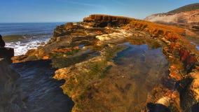 Piscinas de la marea Imagenes de archivo