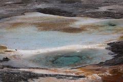 Piscinas del mineral de la agua caliente Fotos de archivo libres de regalías