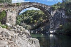 Piscinas del río de Gredos Fotografía de archivo