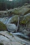 Piscinas en el río Tormes en su paso por Navarredonda De Gredos Naturaleza, viaje, paisajes 21 de diciembre de 2014 Sierra de Gre imagenes de archivo