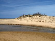 Piscinas, paesaggio della duna, Sardegna, Italia Fotografia Stock
