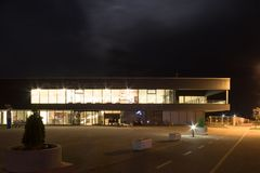 Piscinas, Slavonski Brod, Croácia fotos de stock royalty free