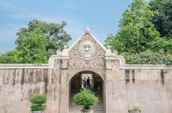 Piscine antique au château Yogyakarta de l'eau de sari de taman Photo libre de droits