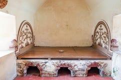 Piscine antique au château Yogyakarta de l'eau de sari de taman, Image libre de droits