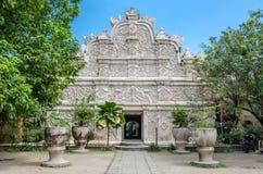 Piscine antique au château Yogyakarta de l'eau de sari de taman Photographie stock
