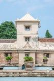 Piscine antique au château Yogyakarta, Java, Indonésie de l'eau de sari de taman Photos libres de droits